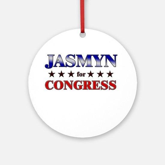 JASMYN for congress Ornament (Round)