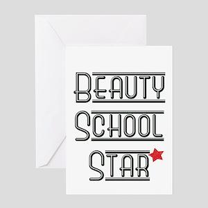 Beauty School Star Greeting Card