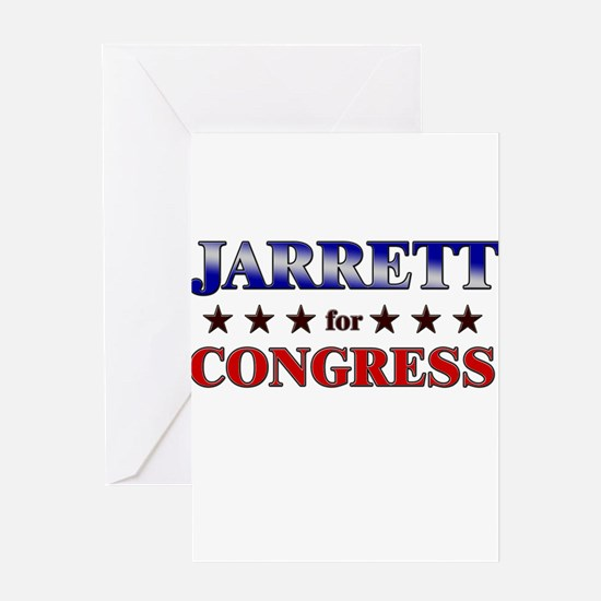 JARRETT for congress Greeting Card