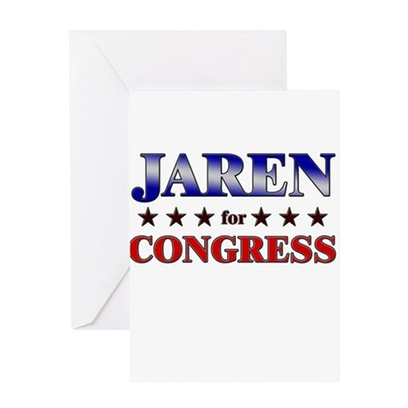 JAREN for congress Greeting Card