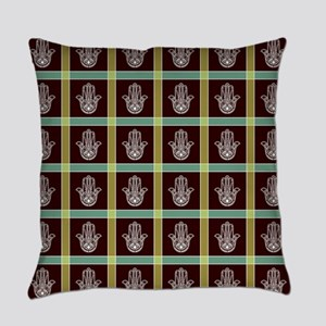 HAMSA PLAID Everyday Pillow