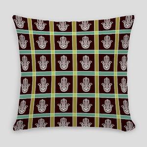 HAMSA PLAID Everyday Pillow