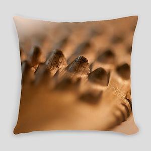 Golden Rasp File Everyday Pillow
