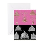 Antique Menorahs Chanukah Cards (Pk of 20)