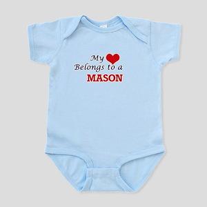 My heart belongs to a Mason Body Suit