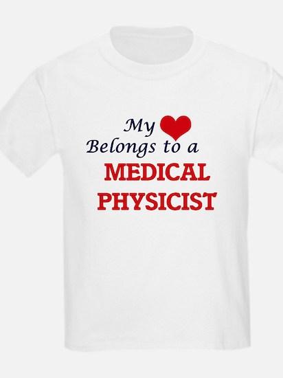 My heart belongs to a Medical Physicist T-Shirt