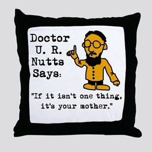 Funny Psych Throw Pillow