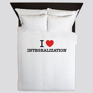 I Love INTEGRALIZATION Queen Duvet