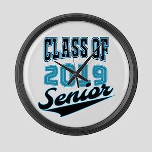 Class of 2019 Senior S Large Wall Clock