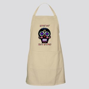 Day Of The Dead - Hearts Light Apron