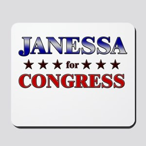 JANESSA for congress Mousepad