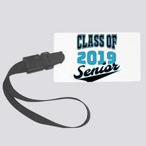 Class of 2019 Senior S Large Luggage Tag