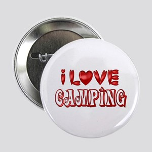 "I Love Camping 2.25"" Button"