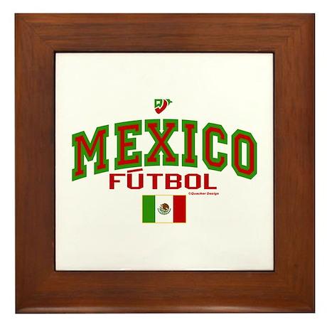 Mexico Futbol/Soccer Framed Tile
