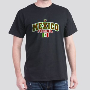 Mexico Futbol/Soccer Dark T-Shirt