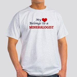 My heart belongs to a Mineralogist T-Shirt