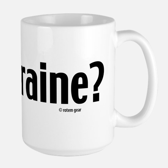 Got Chraine? Jewish Large Mug