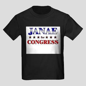 JANAE for congress Kids Dark T-Shirt