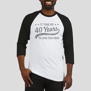 40yearsnn3 Baseball Jersey