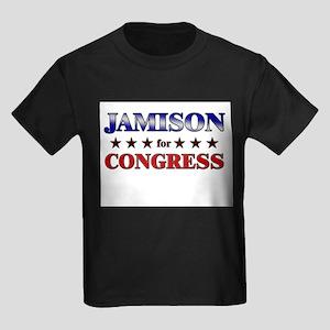JAMISON for congress Kids Dark T-Shirt