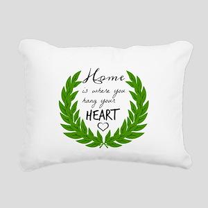 Home quotes Design Rectangular Canvas Pillow