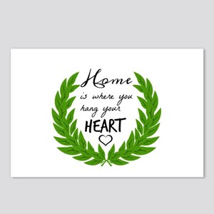 Home quotes Design Postcards (Package of 8)