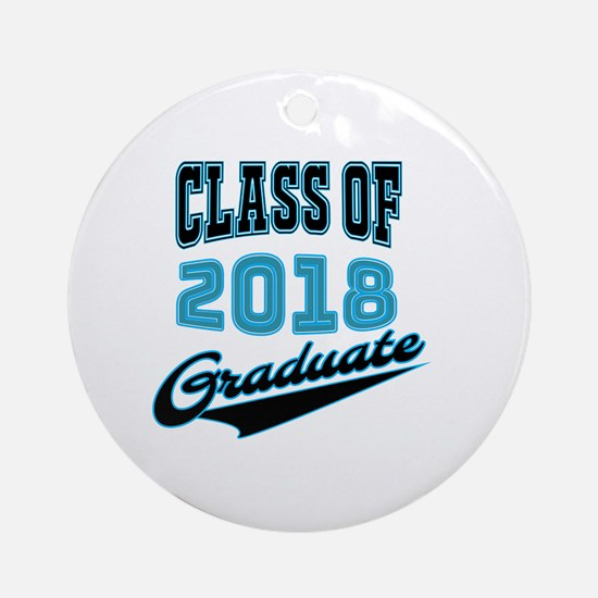 Cute Graduate studies Round Ornament