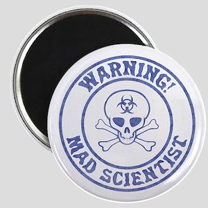 Mad Scientist Warning Magnets