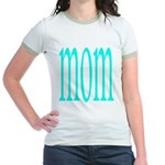 110g.mom Jr. Ringer T-Shirt