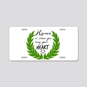 Home quotes Design Aluminum License Plate