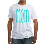 110g.mom Fitted T-Shirt