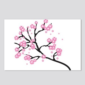 Cherry Blossom Asia Postcards (Package of 8)
