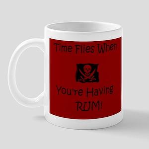 Time Flies When Youre having Rum Mugs