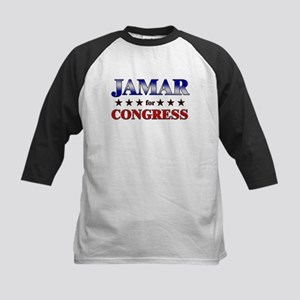 JAMAR for congress Kids Baseball Jersey