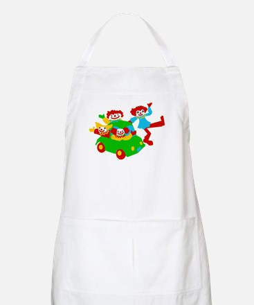 Clown Car BBQ Apron