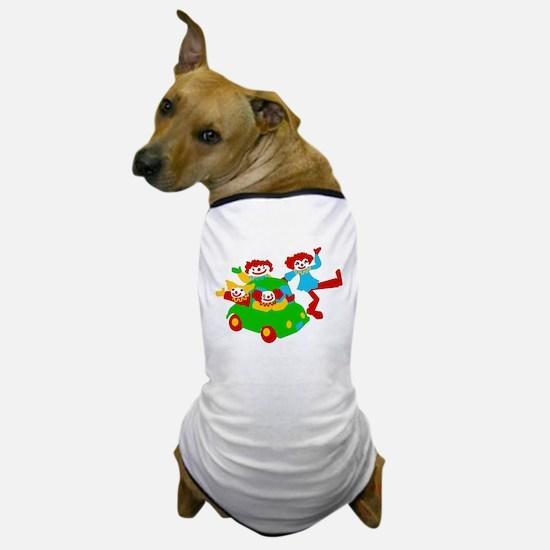 Clown Car Dog T-Shirt