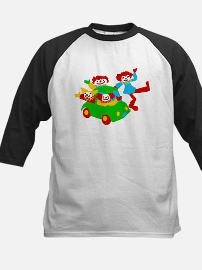 Clown Car Kids Baseball Jersey
