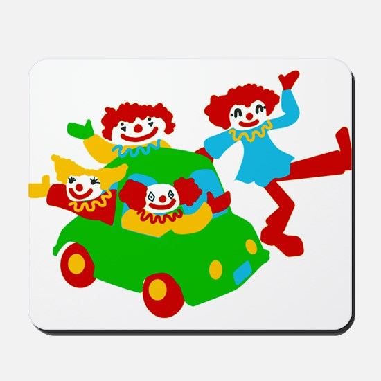 Clown Car Mousepad