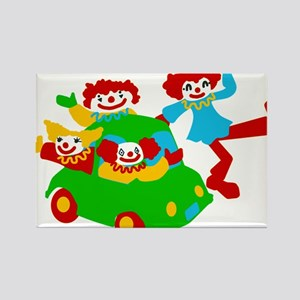 Clown Car Rectangle Magnet