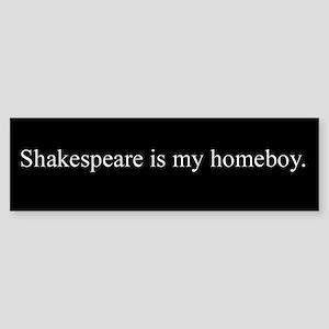 Shakespeare Bumper Sticker