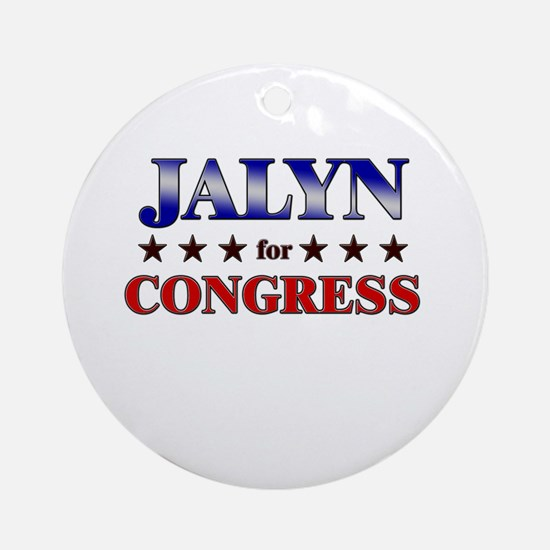 JALYN for congress Ornament (Round)