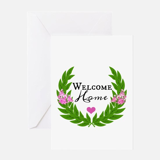 home quote designs Greeting Cards