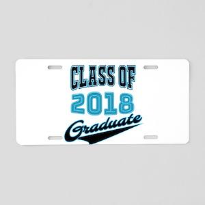 Class of 2018 Graduate Aluminum License Plate