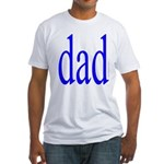 112.dad Fitted T-Shirt