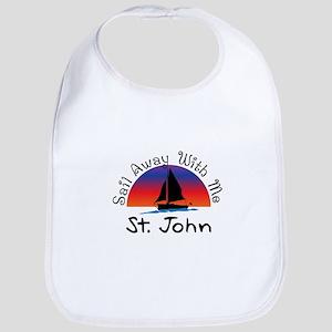 Sail Away with me St. John Bib