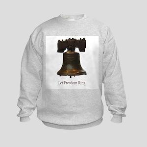 let freedom ring Kids Sweatshirt