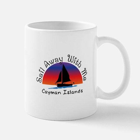 Sail Away with meCayman Islands Mugs