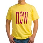 111 Yellow T-Shirt