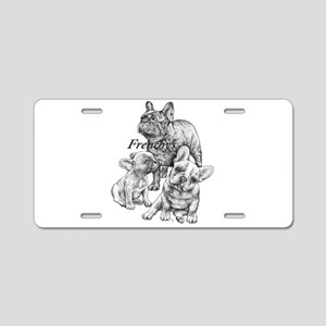 Frenchy's Aluminum License Plate