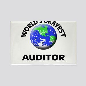 World's Okayest Auditor Magnets